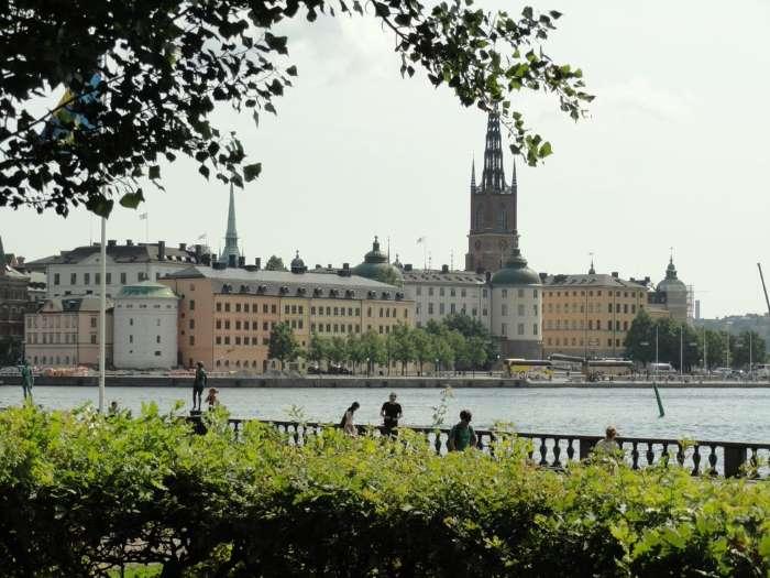 La mer n'est jamais loin à Stockholm. Photo Nord Espaces