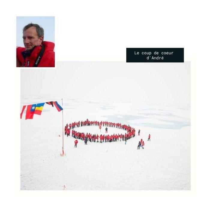 Le coup de coeur d'André : le Pôle Nord. Photo : André de Nord Espaces