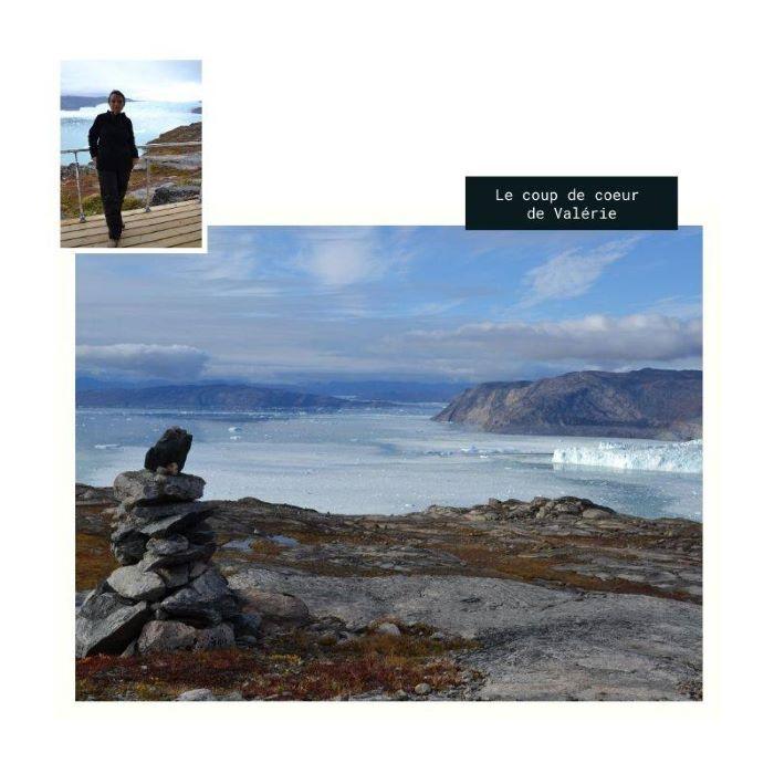 Le coup de coeur de Valérie : le camp de Paul-Emile Victor au Groenland. Photo : Valérie de Nord Espaces