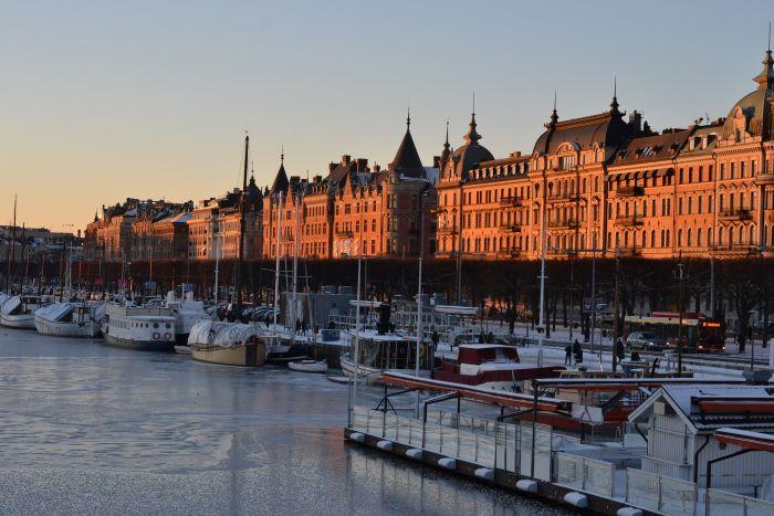 Un quai de Stockholm par Valérie de Nord Espaces