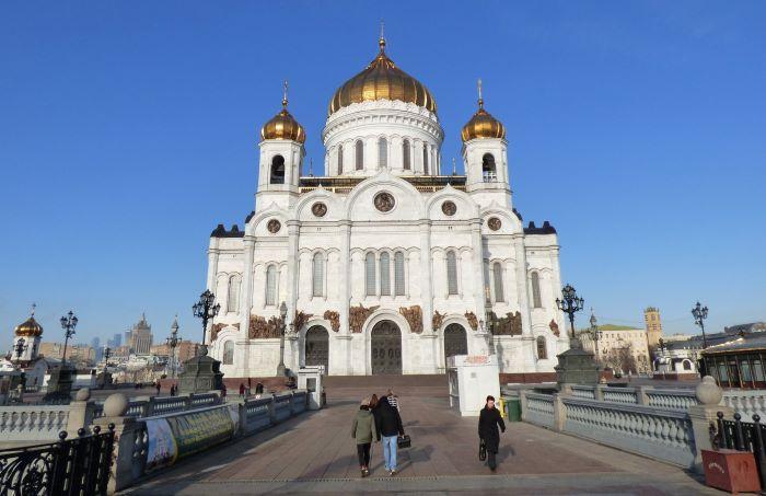 La cathédrale du Christ-Sauveur de Moscou. Photo : Sébastien de Nord Espaces