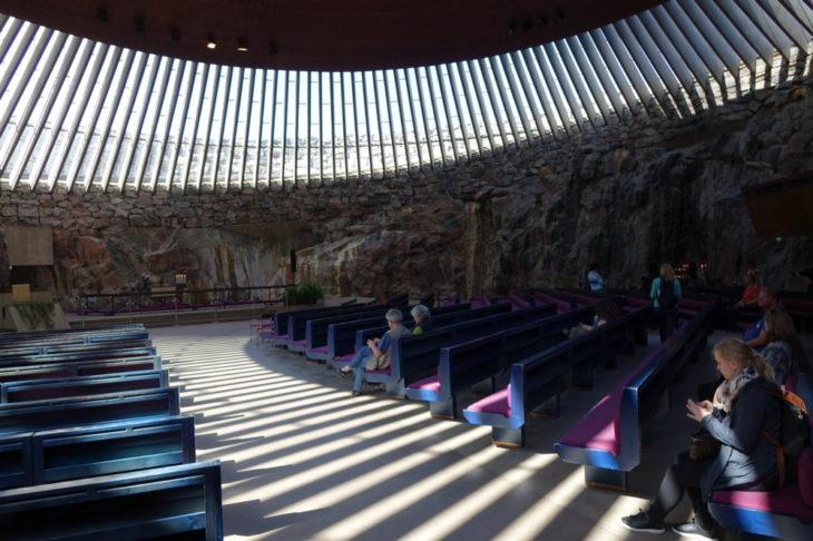 Eglise luthérienne de Temppeliaukio, Helsinki, Finlande - Nord Espaces