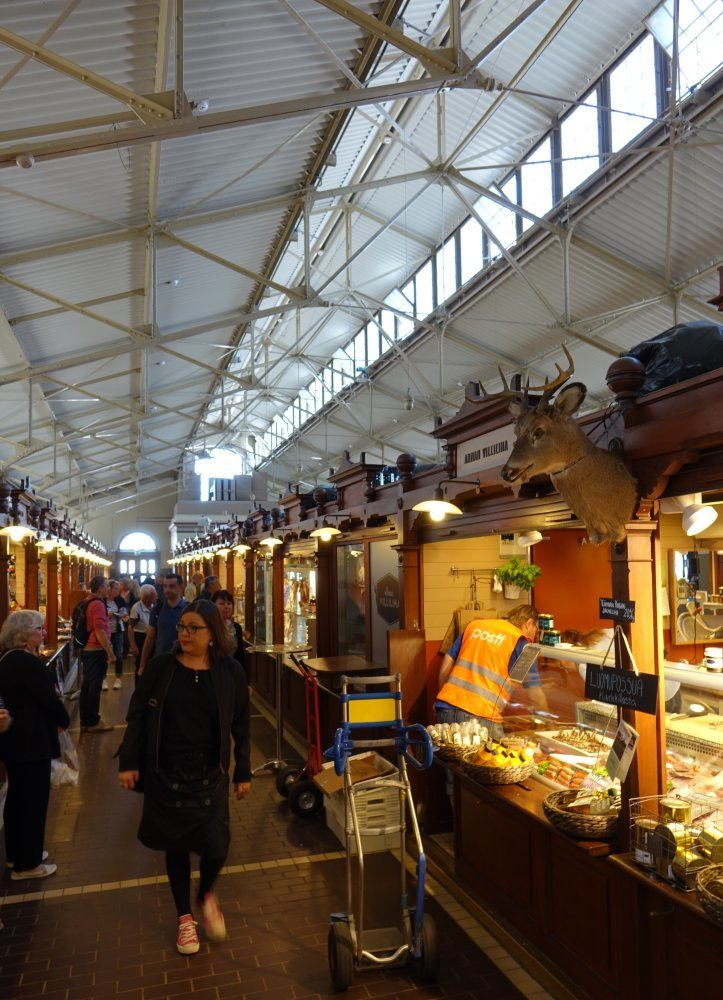 Vanha Kauppahalli, Vieux Marché Couvert d'Helsinki, Finlande - Nord Espaces