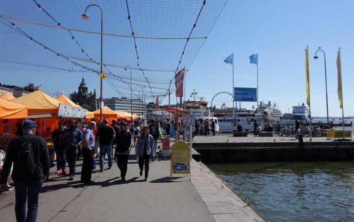 Kauppatori, Marché du Port d'Helsinki, Finlande - Nord Espaces