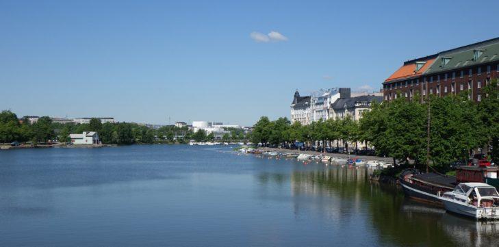 Centre-ville d'Helsinki, Finlande - Nord Espaces