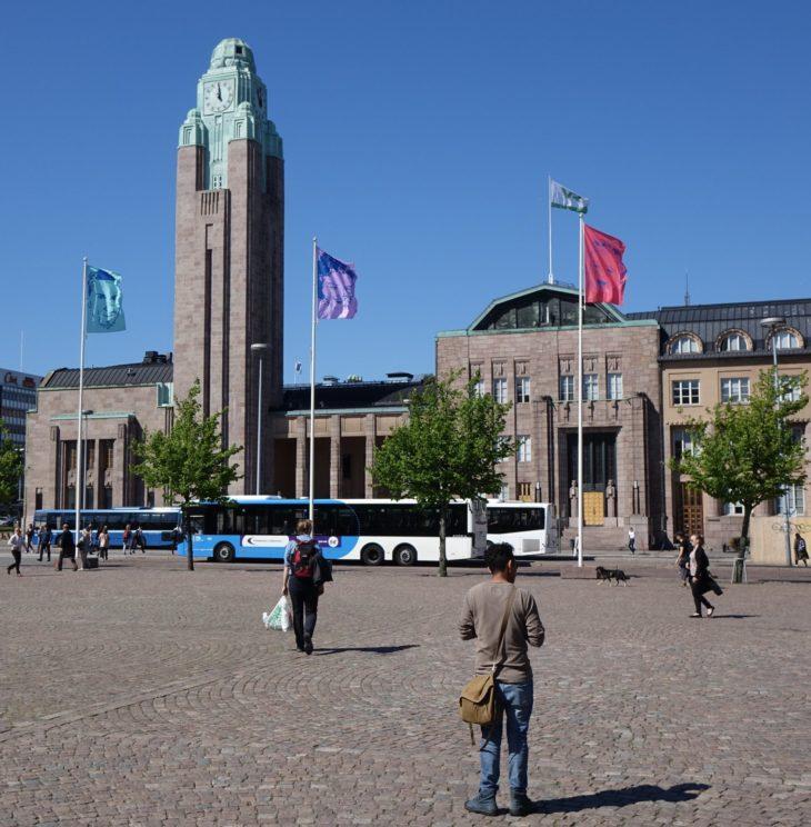 Gare centrale d'Helsinki, Finlande - Nord Espaces