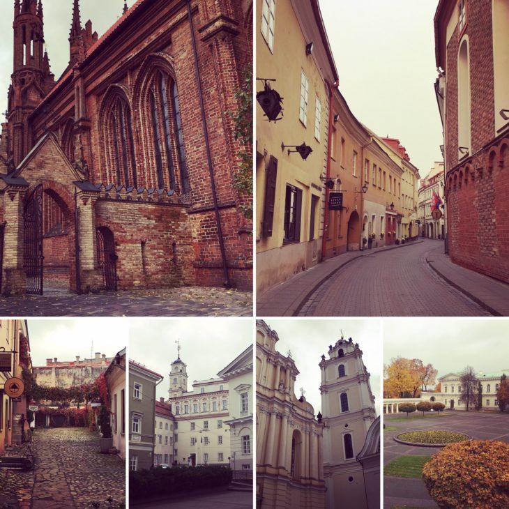 La vieille ville de Vilnius avec Nord Espaces
