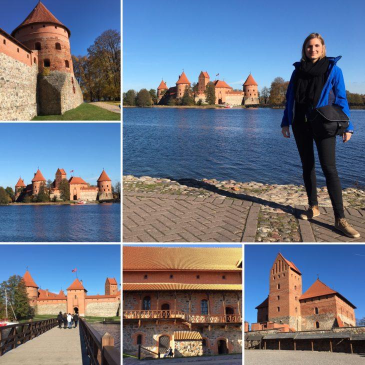 Le château de Trakaï avec Nord Espaces