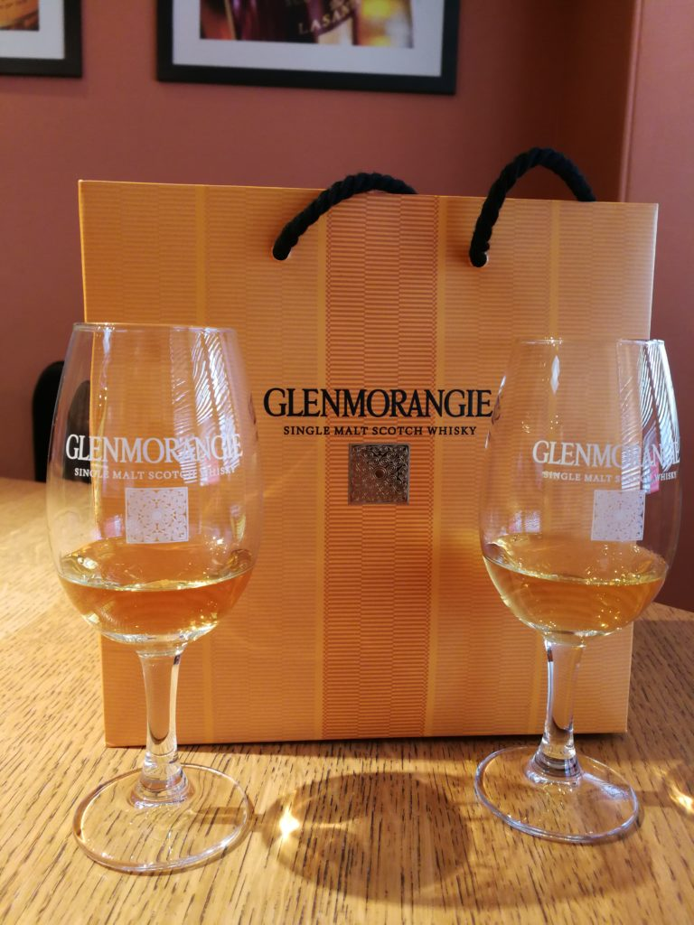 Dégustation à la distillerie Glenmorangie, Tain, Ecosse