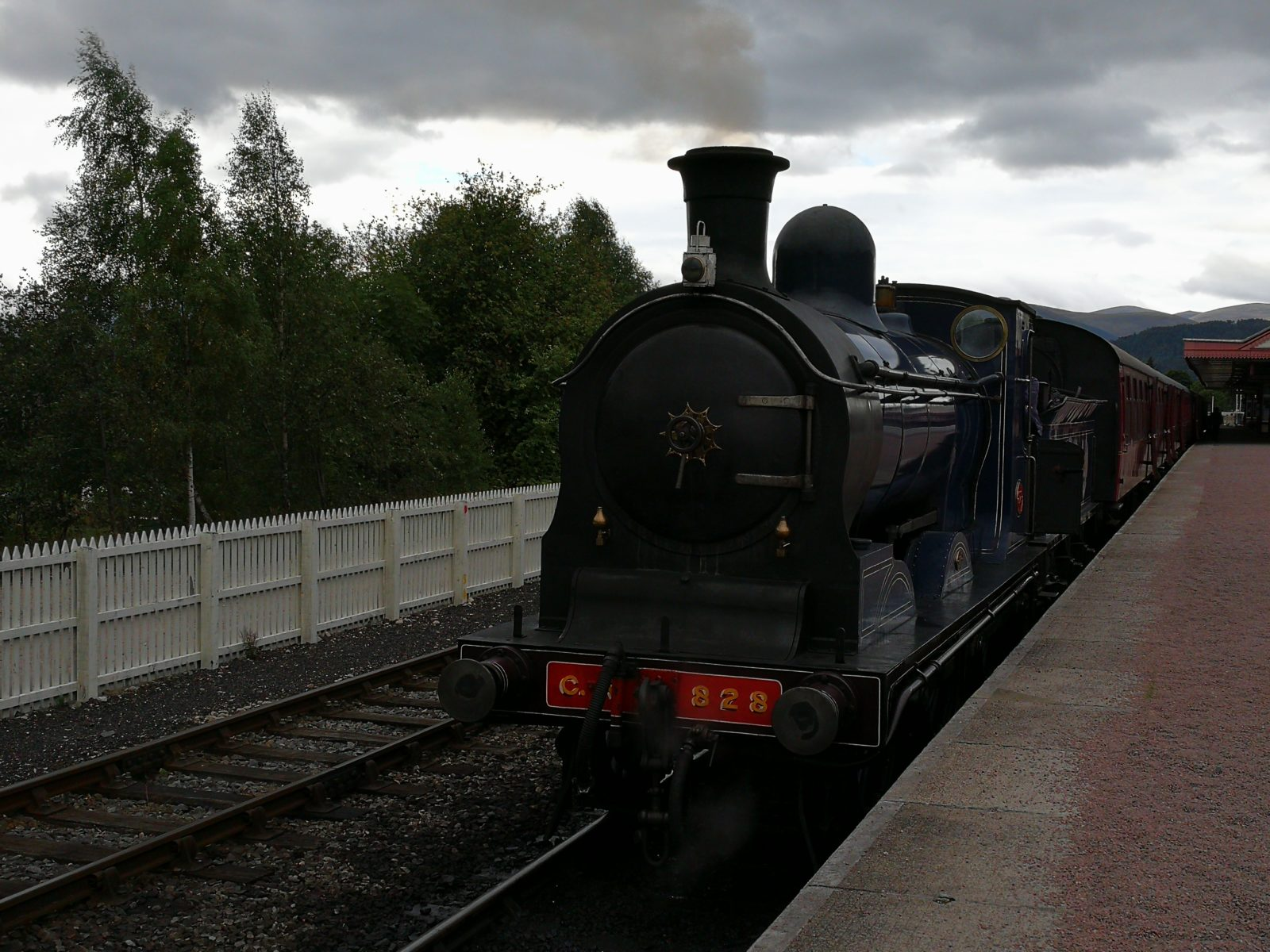 Strathspey Railway à Aviemore, Ecosse