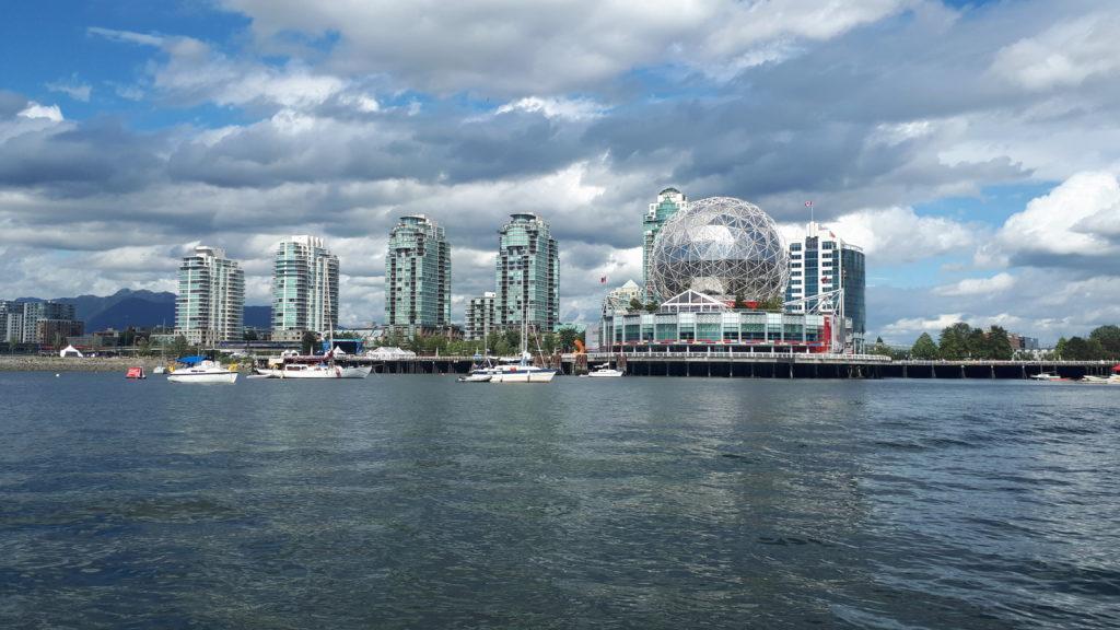 La Géode du Musée des Sciences à Vancouver. Photo : Natacha de Nord Espaces