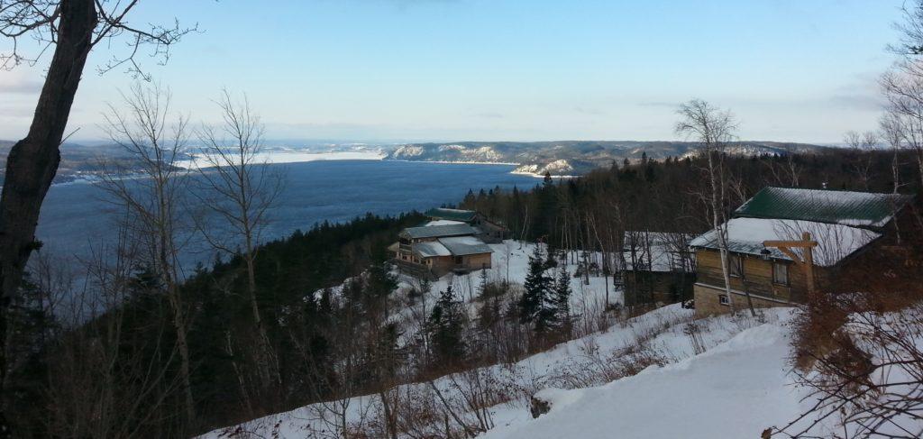 Fêtes de fin d'année au Québec, la vue d'Annie M., 2020