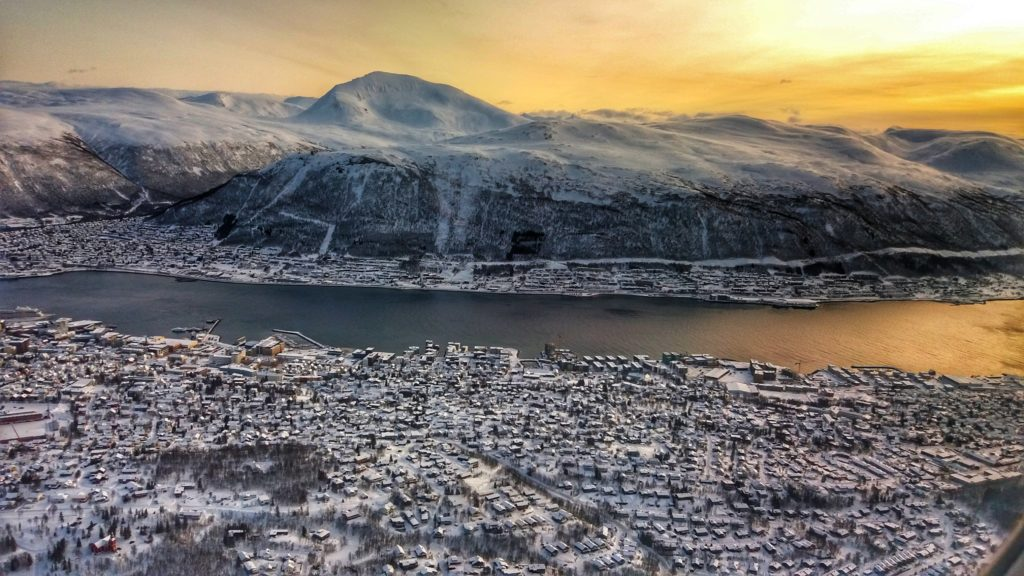 Tromsø par Laurent Dussillols, janvier 2020