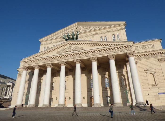 Le théâtre Bolchoï à Moscou. Photo : Julia de Nord Espaces