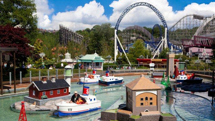 Le parc d'attractions de Liseberg à Göteborg