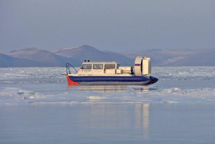 Hydravion sur le lac Baïkal. Photo : Nord Espaces