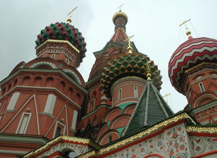 La cathédrale Basile-le-Bienheureux à Moscou. Photo : Sébastien de Nord Espaces