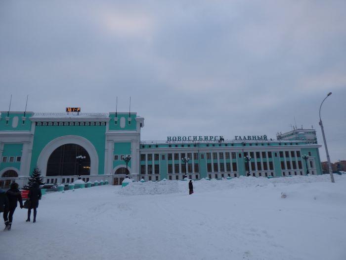 La gare de Novossibirsk. Photo : Nord Espaces