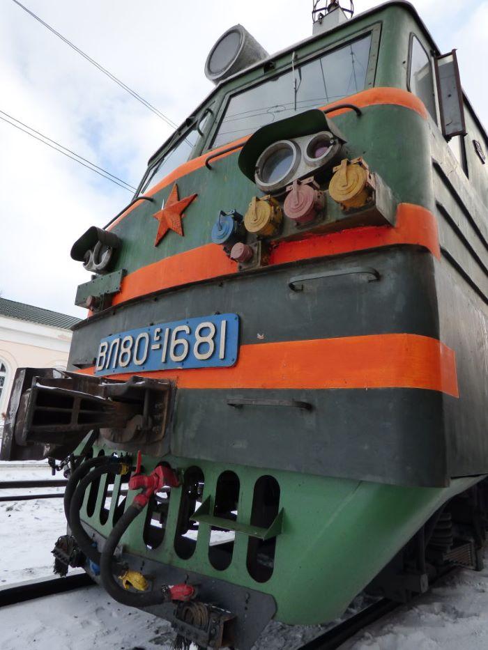 Une locomotive du Transsibérien. Photo : Nord Espaces