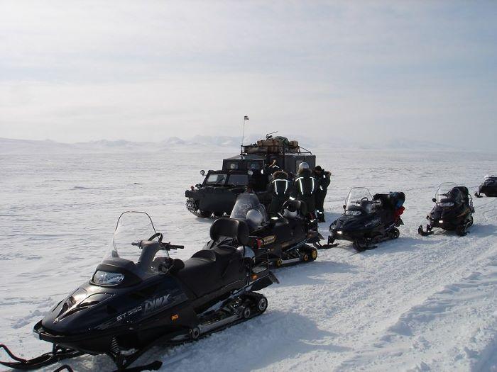 Un rêve évéillé de motoneige en Tchoukotka. Photo : Julia de Nord Espaces