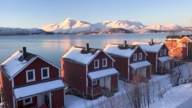 Danse avec les aurores boréales en Norvège, vue de la famille C., février 2020