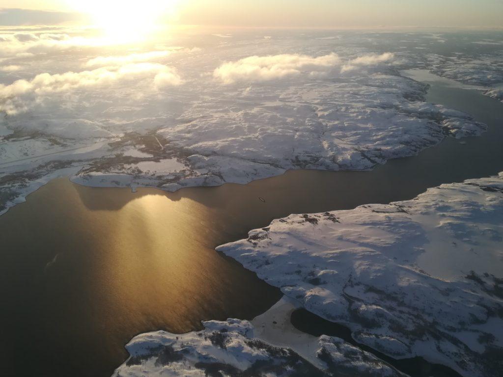La Norvège en hiver, Léa et Alain B., février 2020