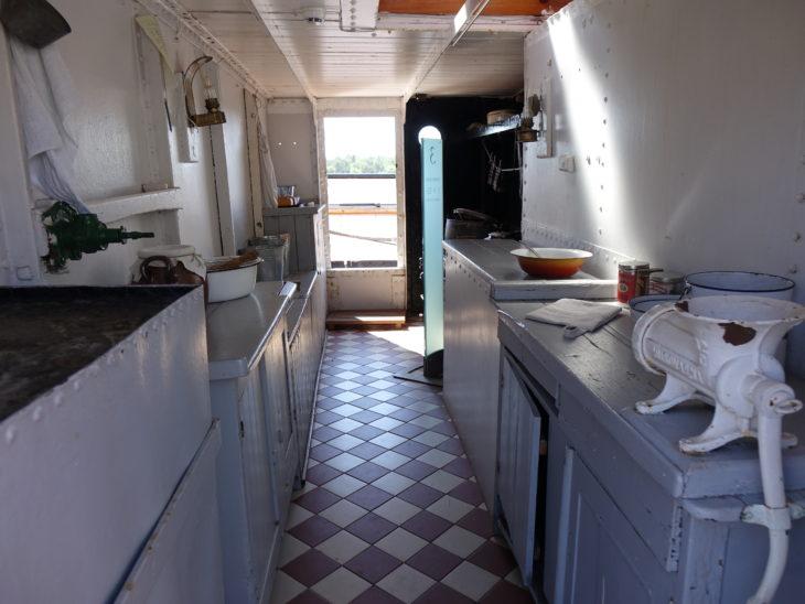 l'intérieur du navire Pomern se visite en Finlande, dans l'archipel d'Aland