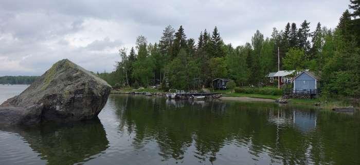 Maison secondaire de l'archipel de Kvarken. Photo : Sébastien de Nord Espaces
