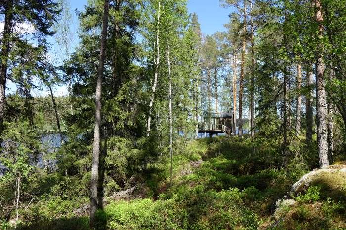 Chalet avec vue en Finlande. Photo : Sébastien de Nord Espaces