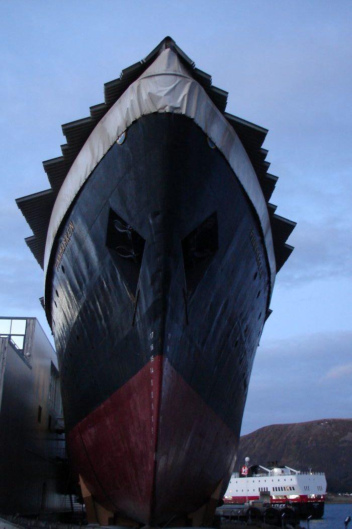 Carénage d'un géant. Photo : Andrea de Nord Espaces