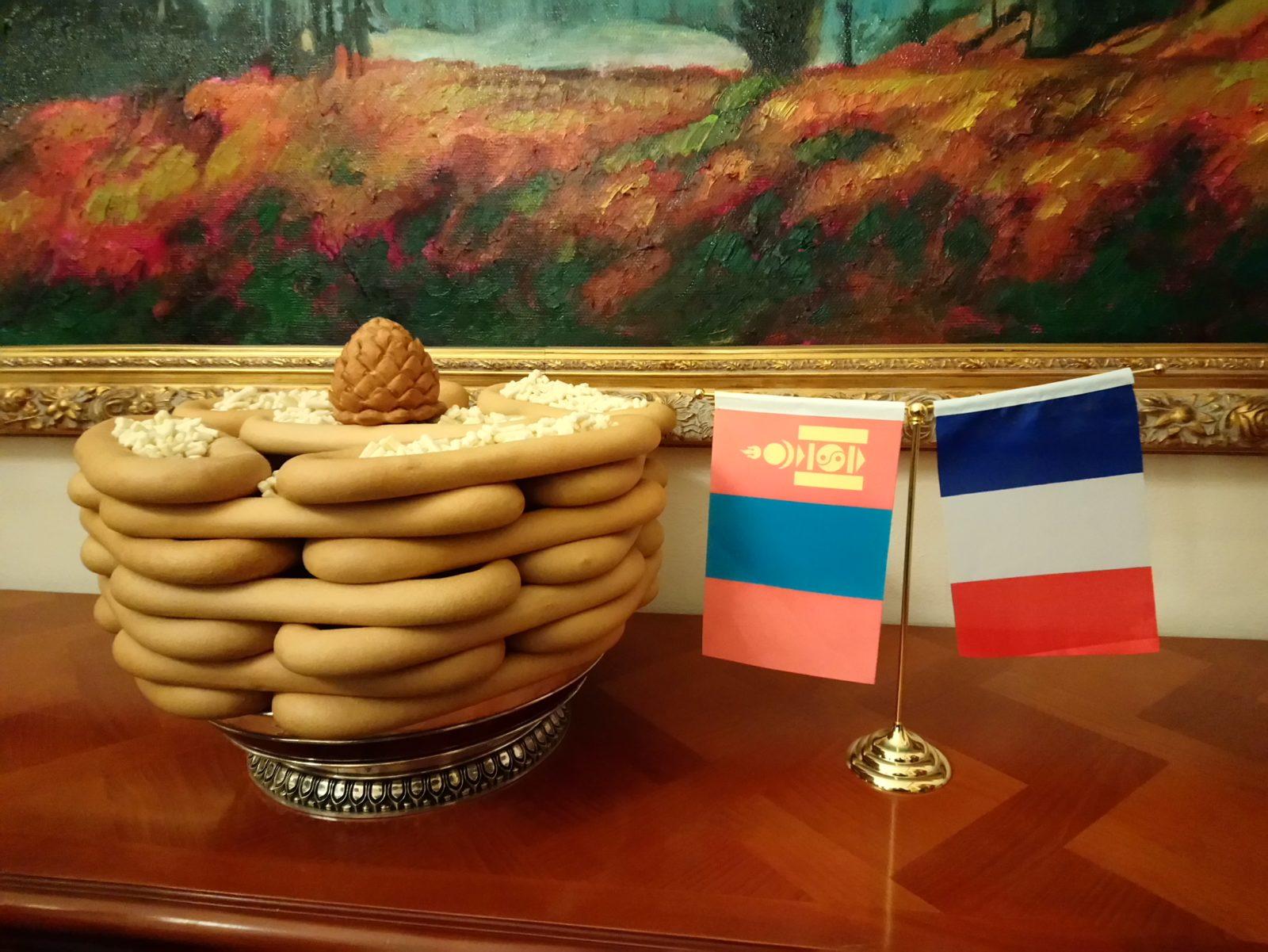 Kheviin boov, Ambassade de Mongolie, 1er février 2019
