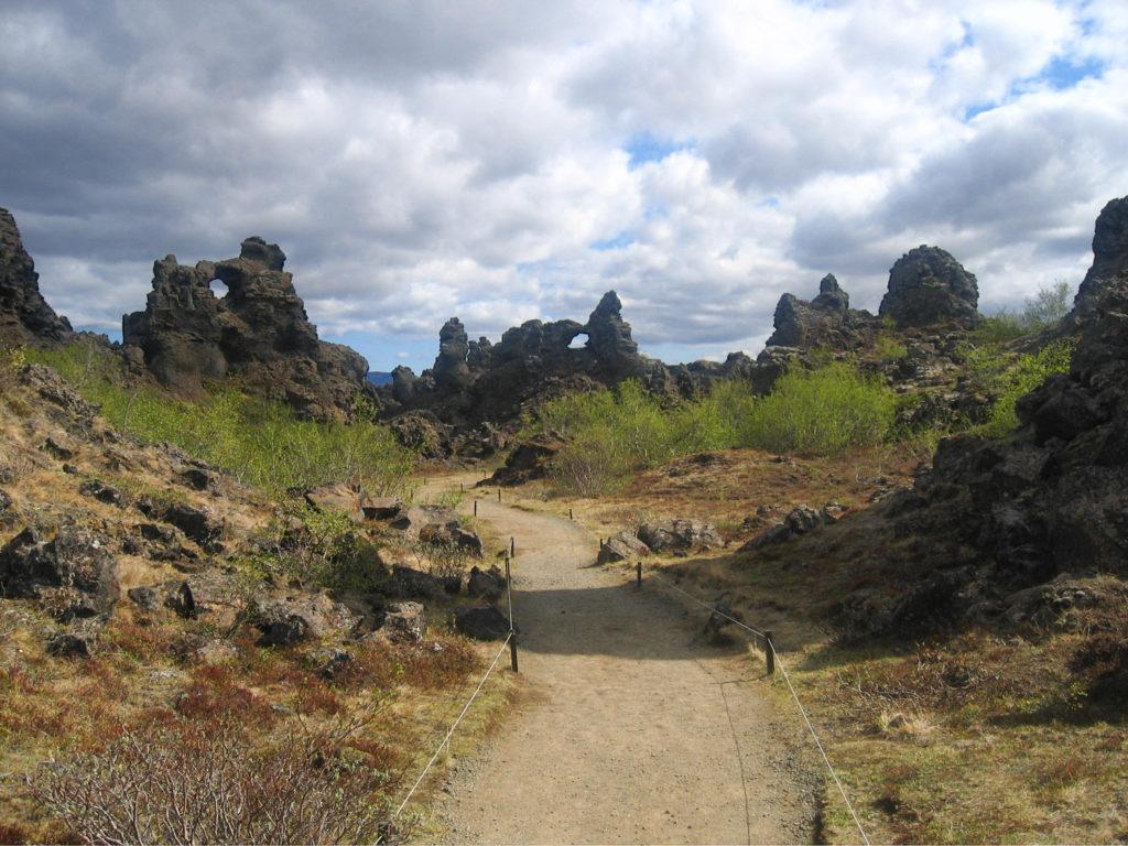 Formations rocheuses de Dimmuborgir, Islande