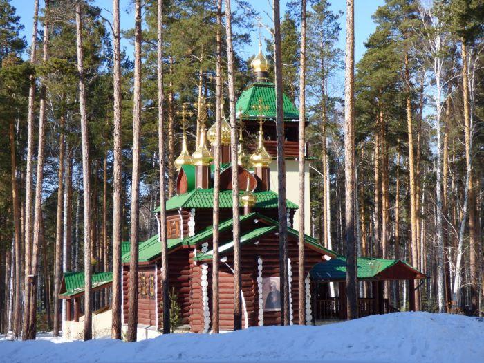 L'une des chapelles de Ganina Yama. Photo : Nord Espaces