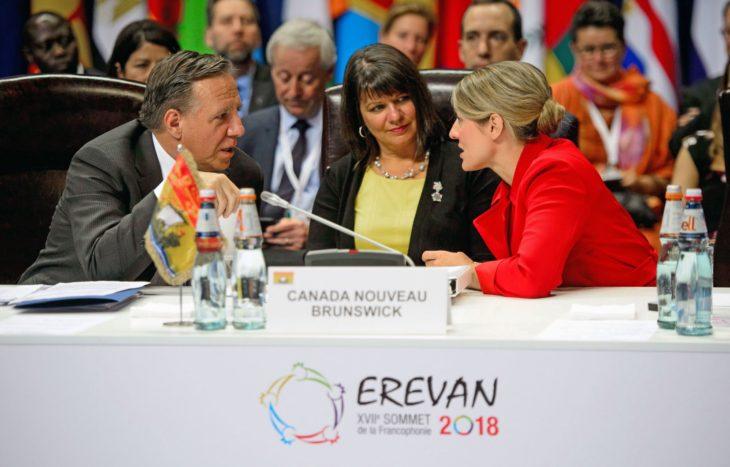 Sommet de la Francophonie à Erevan (Arménie), 2018