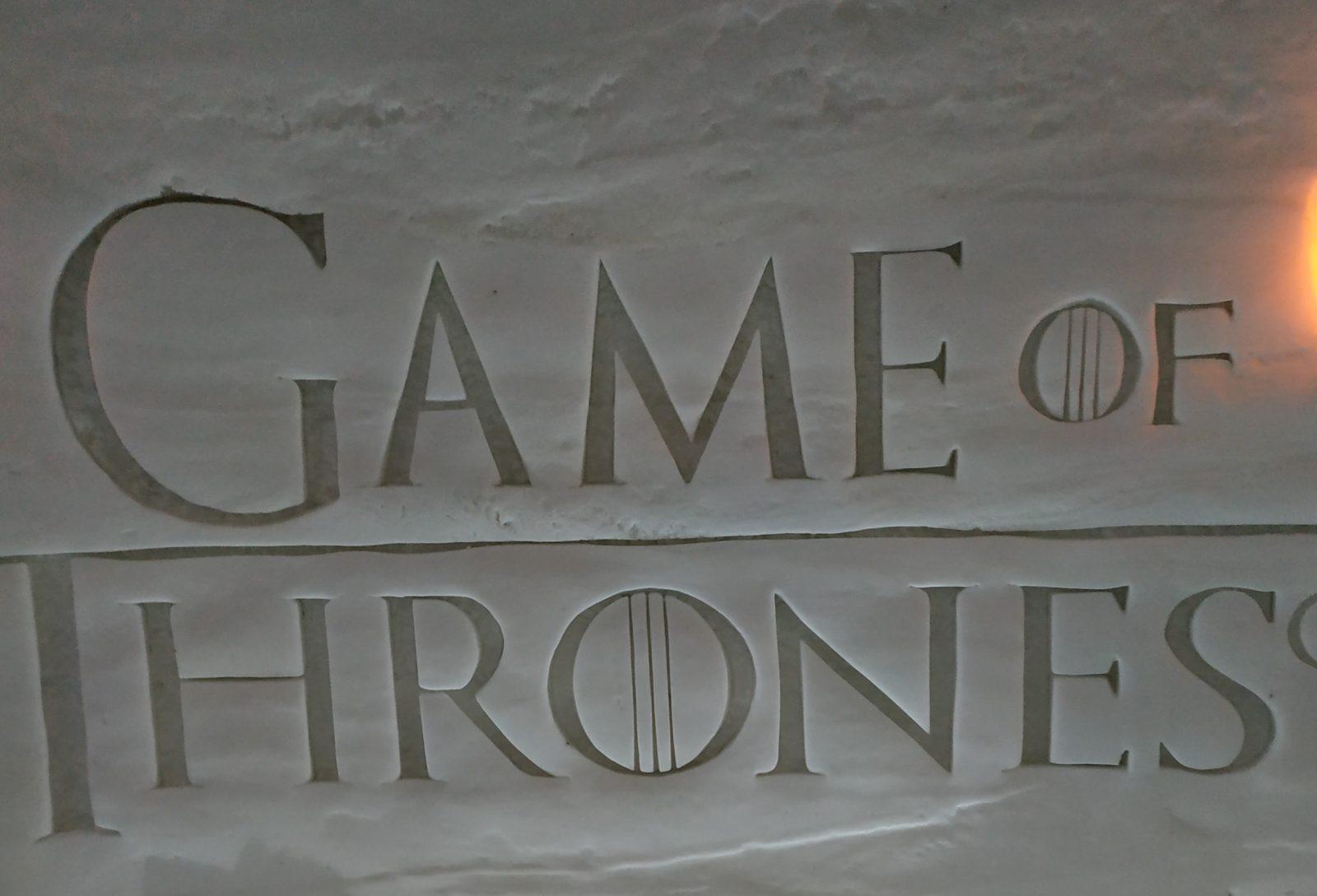 Game of Thrones en Laponie finlandaise