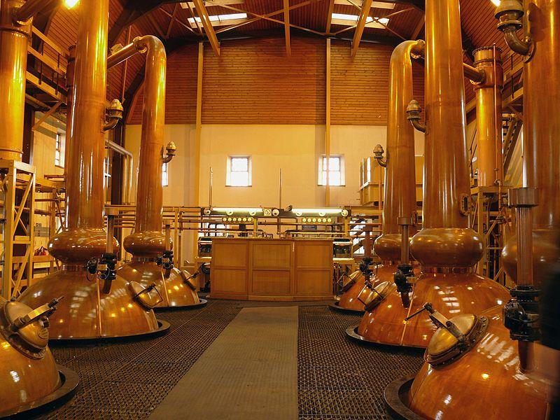 Distillerie Glenmorangie à Tain, Ecosse