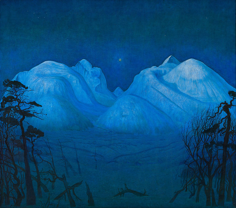Harald Solhberg, Nuit d'hiver dans le Rondane, 1913-1914
