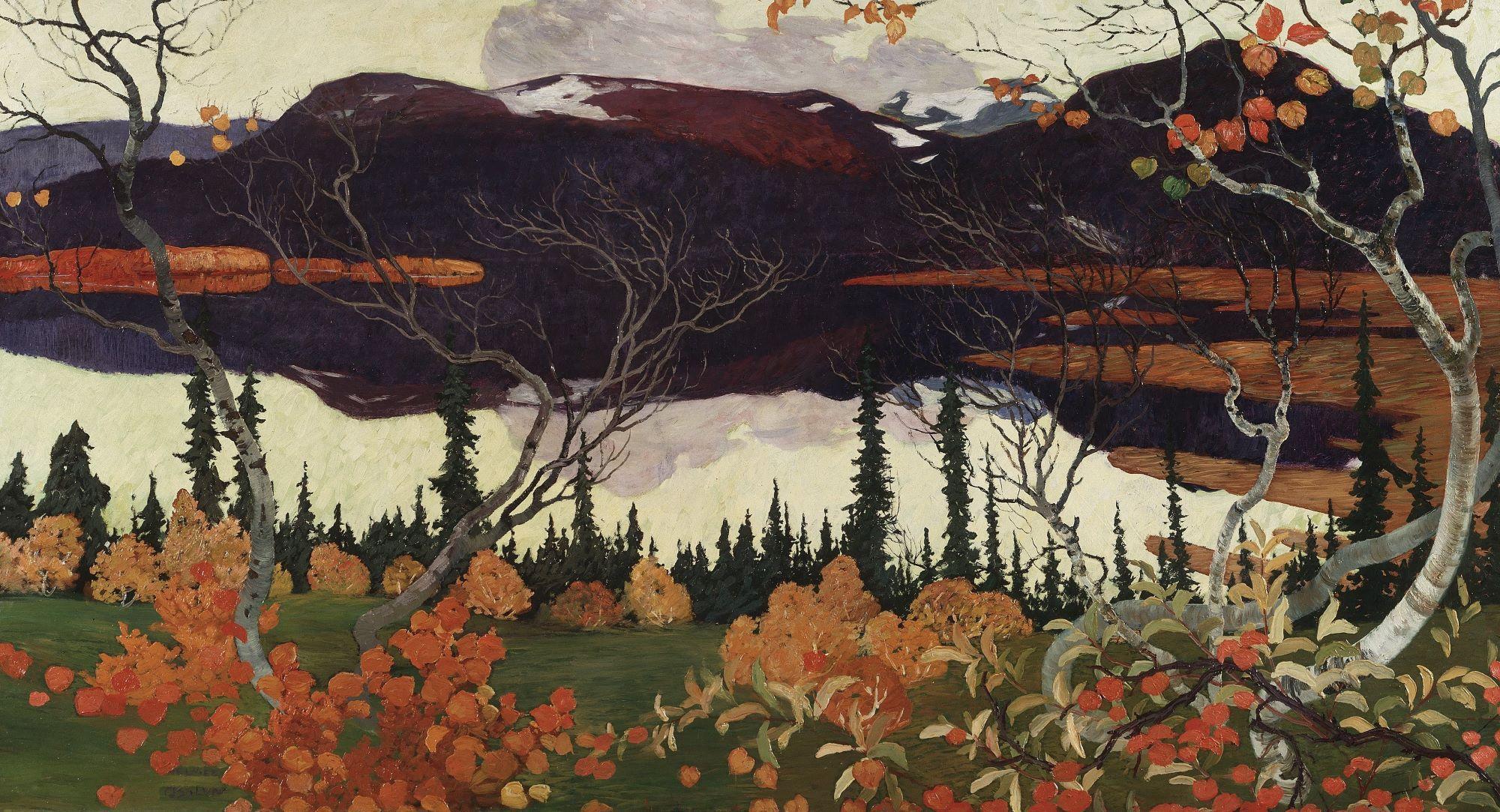 Helmer Osslund, Automne, 1907