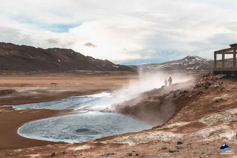 Marmites de boues de Namaskard, Islande