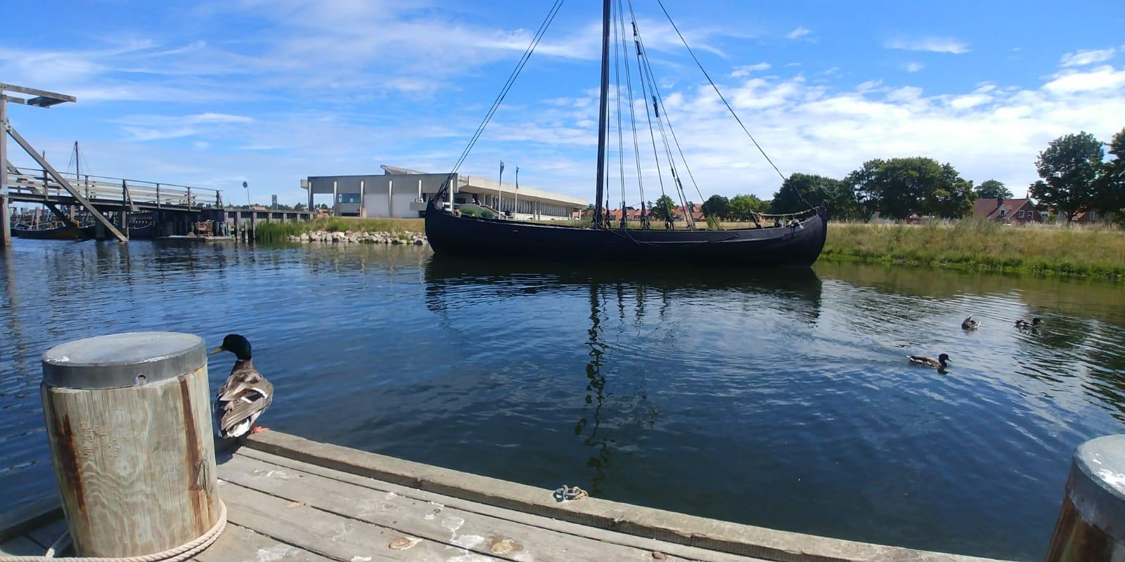 Musée des Bateaux Vikings à Roskilde, Danemark