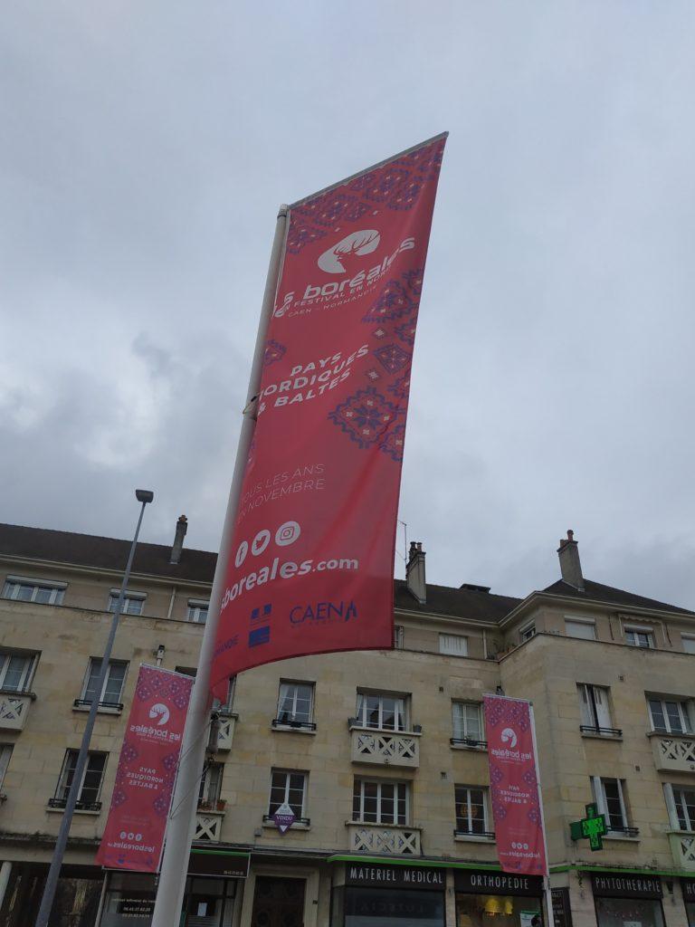 Caen, Festival Les Boréales, novembre 2019, photo Mélanie de Nord Espaces
