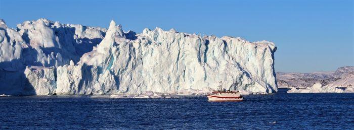 De l'art de naviguer au Groenland. Photo : Chantal T.