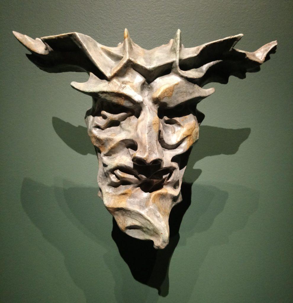 Niels Hansen Jacobsen, Masque de l'Automne, 1896-1903, Vejen Kunstmuseum, Danemark