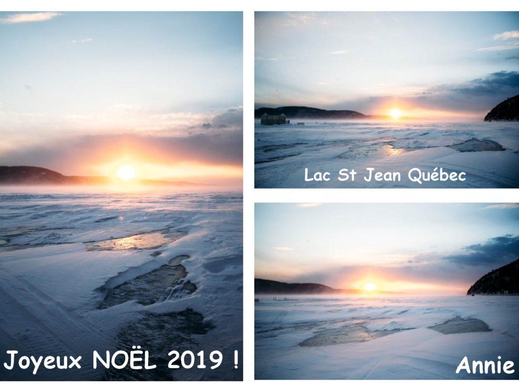 Le lac Saint-Jean, Annie M., 2020