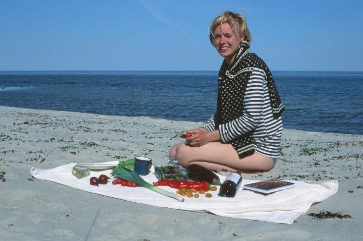 Un pique-nique au bord de la Baltique