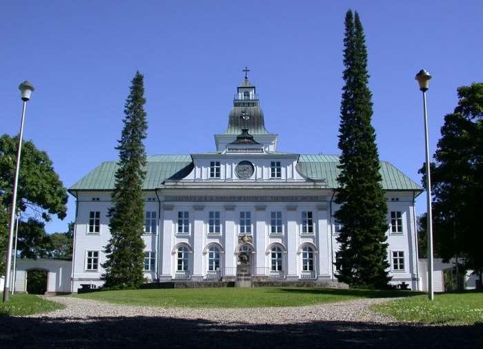 L'église de Korsholm à Vaasa par Matias Ericsson.