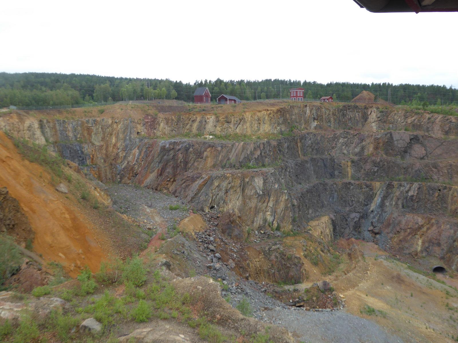 Mine de cuivre de Falun, Suède
