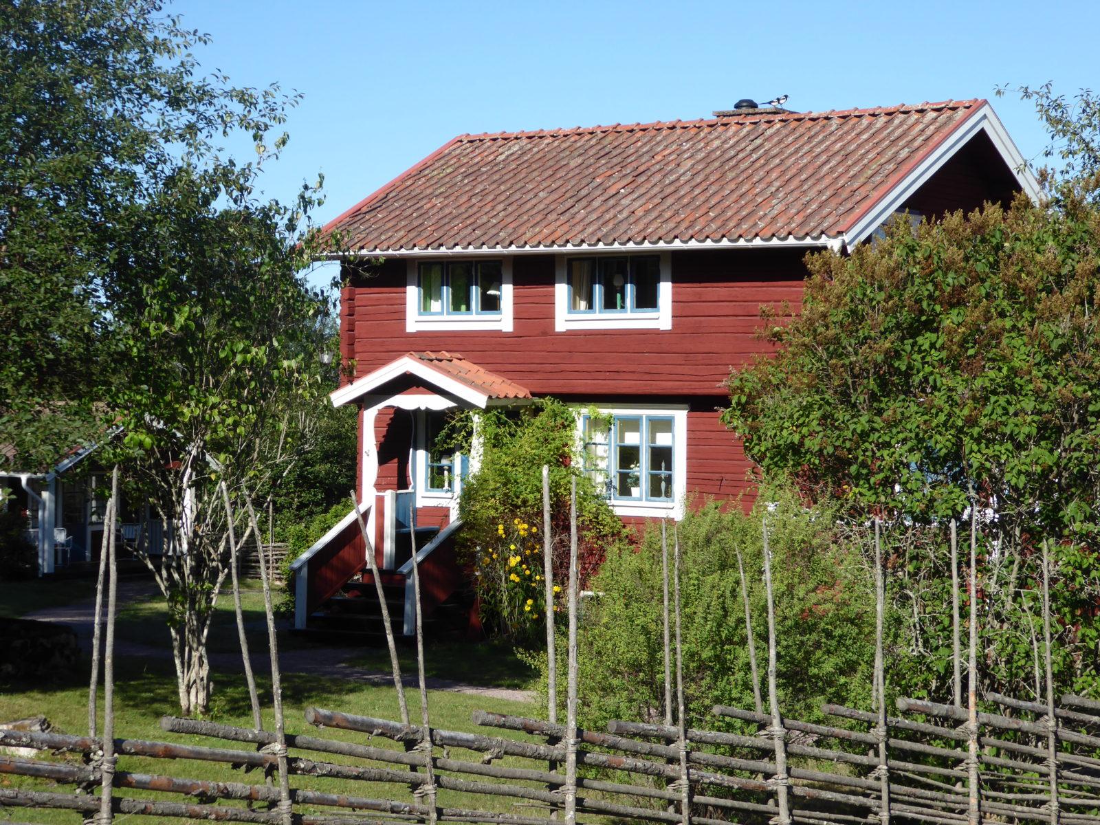 Maison de Dalécarlie, Suède