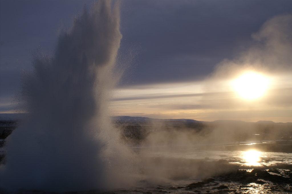 Geyser Strökkur, Islande
