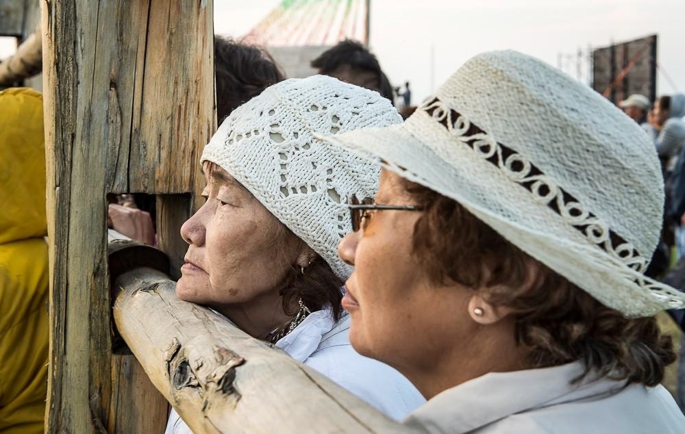 Fête d'Essiakh en Yakoutie. Photo : Sergey Dolya
